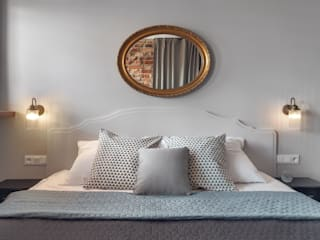 Apartament do wynajęcia na Kazimierzu Eklektyczna sypialnia od Double Look Design Eklektyczny
