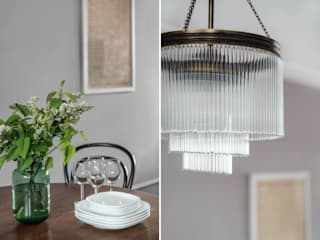 Salas de jantar ecléticas por Double Look Design Eclético
