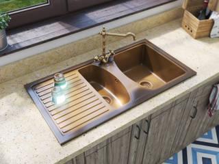 Modelo Brezo: Cocinas de estilo rústico de A3D INFOGRAFIA