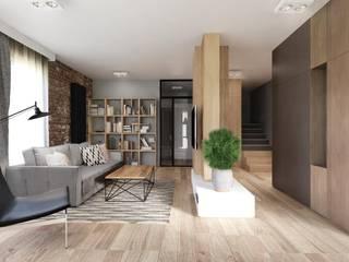 Salas de estar modernas por Double Look Design Moderno