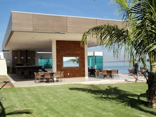 Tерраса в . Автор – Costa Lima Arquitetura Design e Construções Ltda,