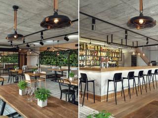 Plac Nowy 1 - Klub - piętro +2 od Double Look Design Industrialny
