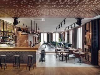 Plac Nowy 1 - klub - Piętro +1 od Double Look Design Industrialny