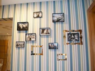 Detalhe parede: Paredes  por Costa Lima Arquitetura Design e Construções Ltda