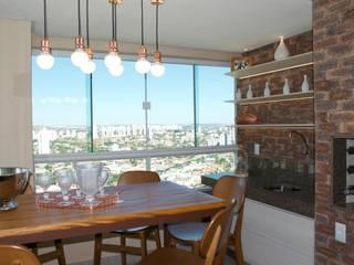 Varanda Gourmet: Terraços  por Costa Lima Arquitetura Design e Construções Ltda