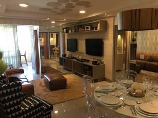 Living: Salas de estar  por Costa Lima Arquitetura Design e Construções Ltda