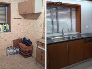 Cozinha:   por Obr&Lar - Remodelação de Interiores