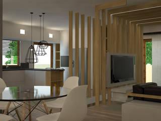 Modern dining room by INTERNO B Modern