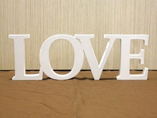 LOVE por deco'clock Moderno