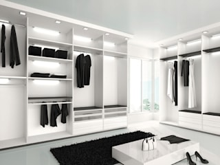 Residential Modern dressing room by Eminent Enterprise LLP Modern