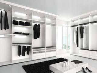 Vestidores y placares de estilo moderno de Eminent Enterprise LLP Moderno