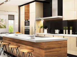 Cocinas de estilo moderno de Eminent Enterprise LLP Moderno