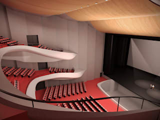 Commercial Modern event venues by Eminent Enterprise LLP Modern