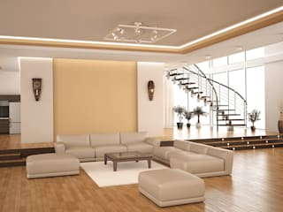 Office:  Office buildings by  Eminent Enterprise LLP