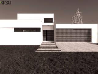 CASA LC de áwaras arquitectos Moderno