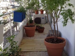 Balcon Barrio Norte -Bs As- Argentina: Terrazas de estilo  por Ib - Paisajista