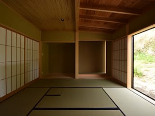 house K: Snowdesignofficeが手掛けた和室です。