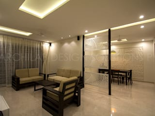 LIVING :  Living room by Archilab Design Solutions Pvt.Ltd.
