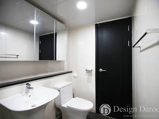 암사동 프라이어팰리스 32평형 거실욕실 모던스타일 욕실 by Design Daroom 디자인다룸 모던