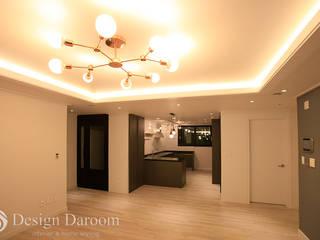 Salones de estilo clásico de Design Daroom 디자인다룸 Clásico
