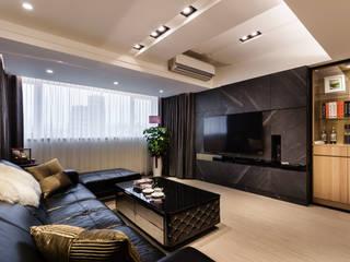 Salas de estar modernas por 好室佳室內設計 Moderno