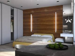 номер апарт отеля: Гостиницы в . Автор – background архитектурная студия