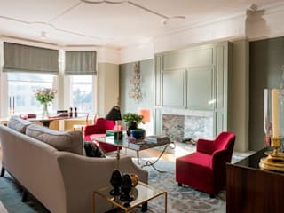 A17 - City Apartment London Hampstead tredup Design.Interiors Living roomSofas & armchairs