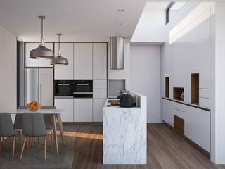 Cucina moderna di Esboçosigma, Lda Moderno