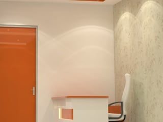 New Clinic Design by KANISHK INTERIORS INDIA PRIVATE LIMITED