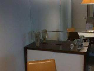 Apartamento de 80m2: Salas de jantar  por Studio Marcia Lazzarini interiores
