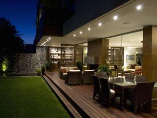 Casa Crater 1: Terrazas de estilo  por Eduardo Gutiérrez Taller de Arquitectura