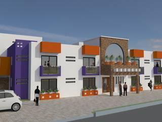 AH Proyectos y construcciones Casas modernas: Ideas, imágenes y decoración