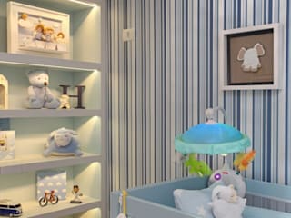 Nursery/kid's room by Célia Orlandi por Ato em Arte