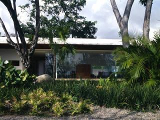 Casa Jade: Jardines de estilo  por Eduardo Gutiérrez Taller de Arquitectura