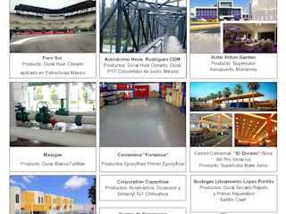 CURRICULUM DE OBRA: Espacios comerciales de estilo  por PINTEX