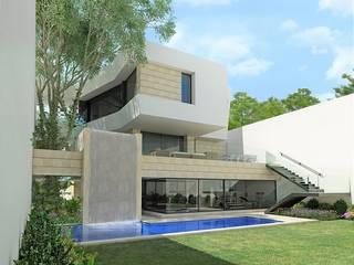 Casa KV de Víctor Díaz Arquitectos Moderno