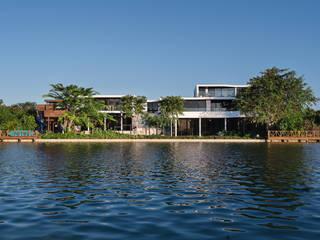 Casa del Árbol: Casas de estilo moderno por Ancona + Ancona Arquitectos