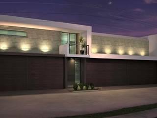 Casa RA de Víctor Díaz Arquitectos Moderno