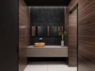 Badgestaltung:  Badezimmer von Casaplaner Modulhaus Schweiz