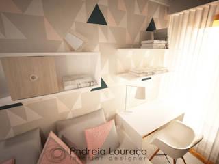 """Projecto de Decoração Quarto """"Triangles"""":   por Andreia Louraço - Designer de Interiores (Contacto: atelier.andreialouraco@gmail.com)"""
