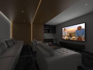 Minimalist media room by homify Minimalist