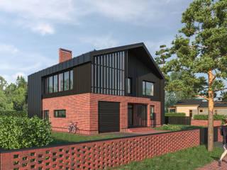 Дом для большой семьи - 270 м2 от Архитектор Тимофей Раков