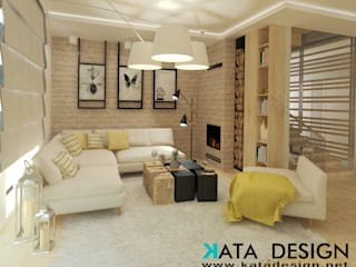 Salas modernas de Kata Design Moderno