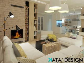 Modern living room by Kata Design Modern