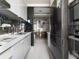 廚房:  廚房 by 禾廊室內設計