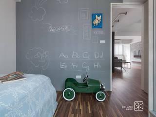 Kamar Bayi/Anak Minimalis Oleh 禾廊室內設計 Minimalis