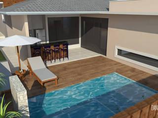 Residência em Itatiba por Daniela Ponsoni Arquitetura Moderno