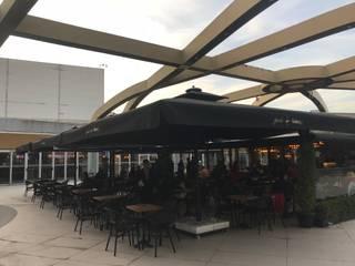 Akaydın şemsiye Shopping Centres Iron/Steel Black