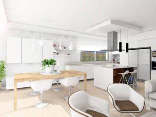 Cozinhas embutidas  por Carman Interiorismo Granada