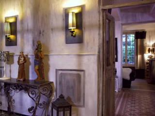 Réalisation de chantiers Murs & Sols modernes par Florence Lavigne - Peintures et Enduits naturels Moderne